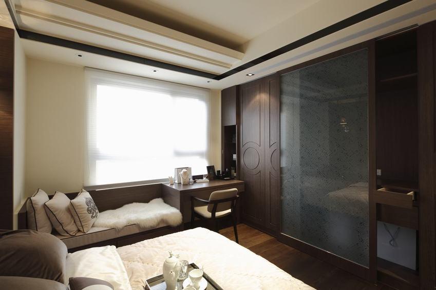 新中式卧室衣柜设计图