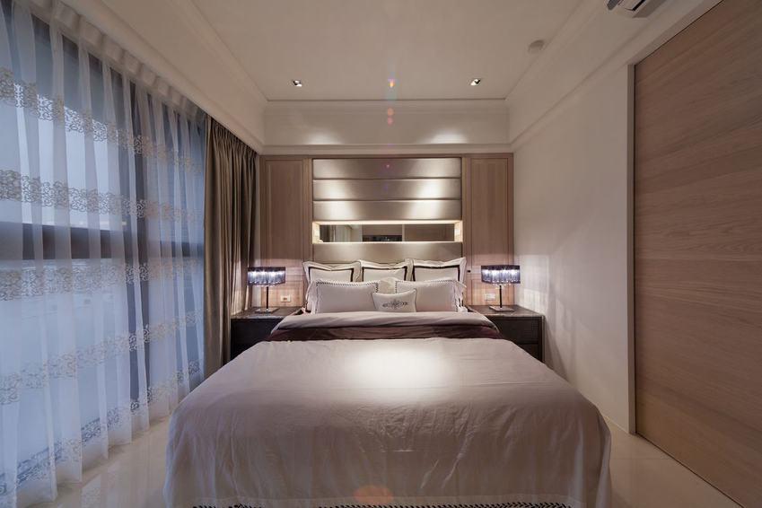 10平米精装现代卧室效果图