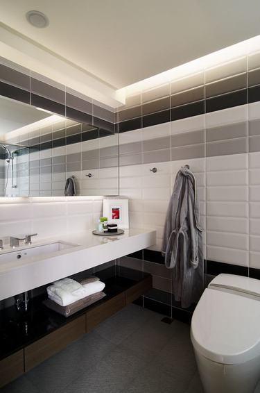 简约卫生间洗手台装修图
