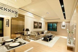 6万装修现代二居家装案例图