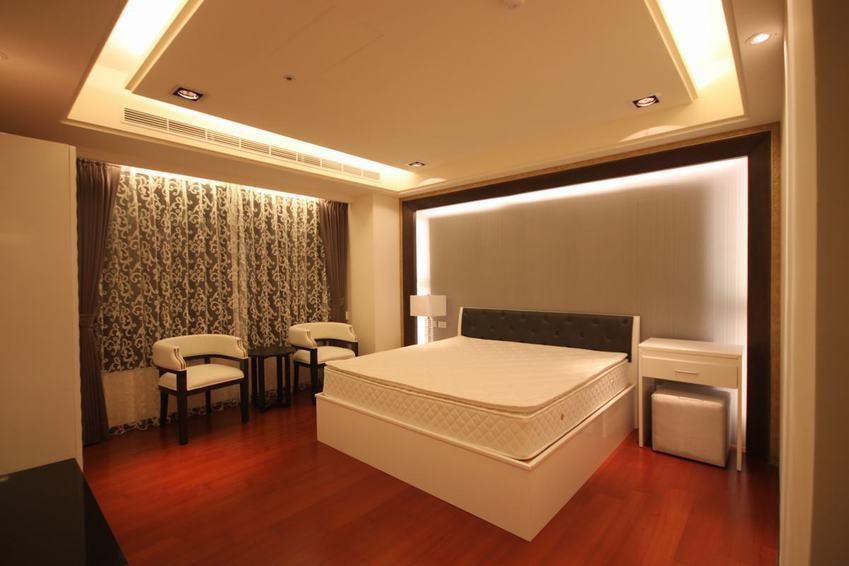 现代家装卧室样板间欣赏