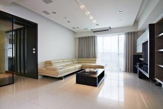 78平简约现代二居家装设计