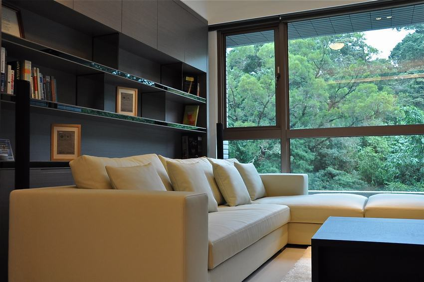 简约现代风布艺沙发效果图