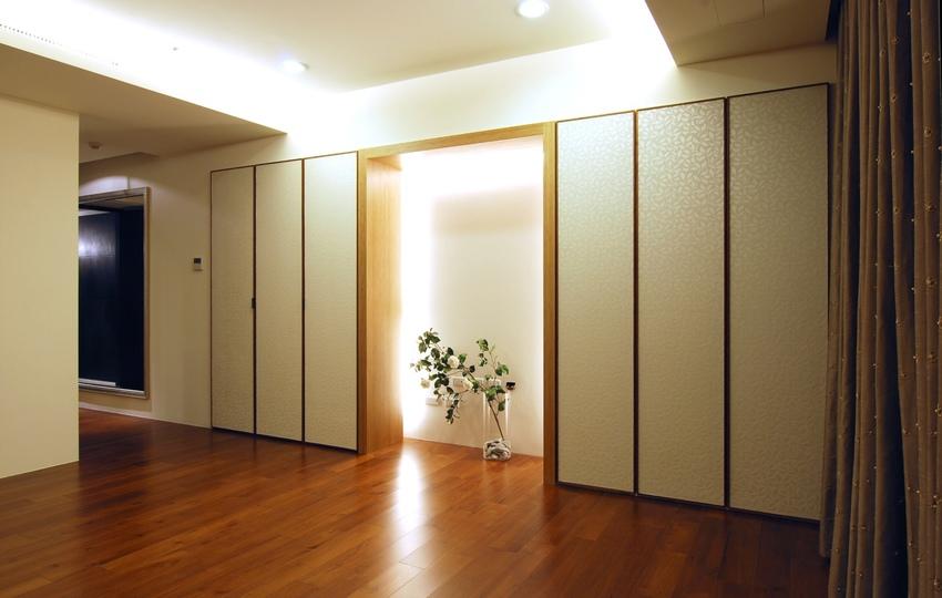 现代时尚家居 实木复合板装饰图