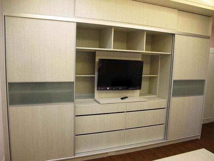 简约时尚设计电视柜效果图