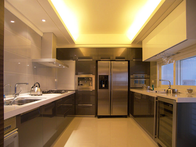 时尚现代家居整体厨房装修图