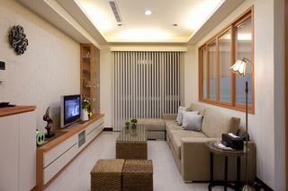 和风日式风格一居室装潢设计