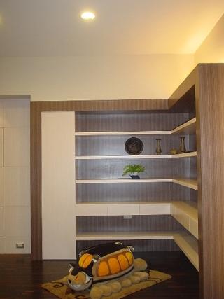 休闲日式家装整体展示架设计图