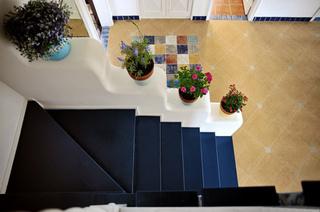 地中海风格复式楼梯设计
