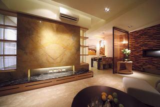 75平现代二居室内装潢效果图