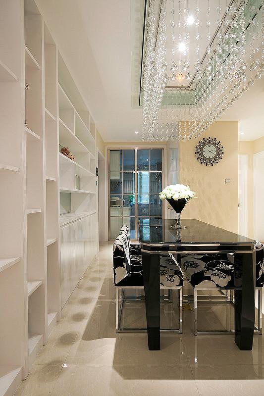 华丽宜家简欧风格 餐厅水晶灯图片