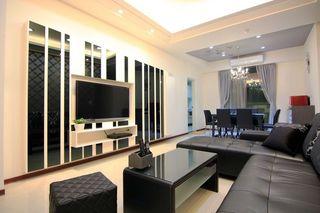 简约现代两居室装修图