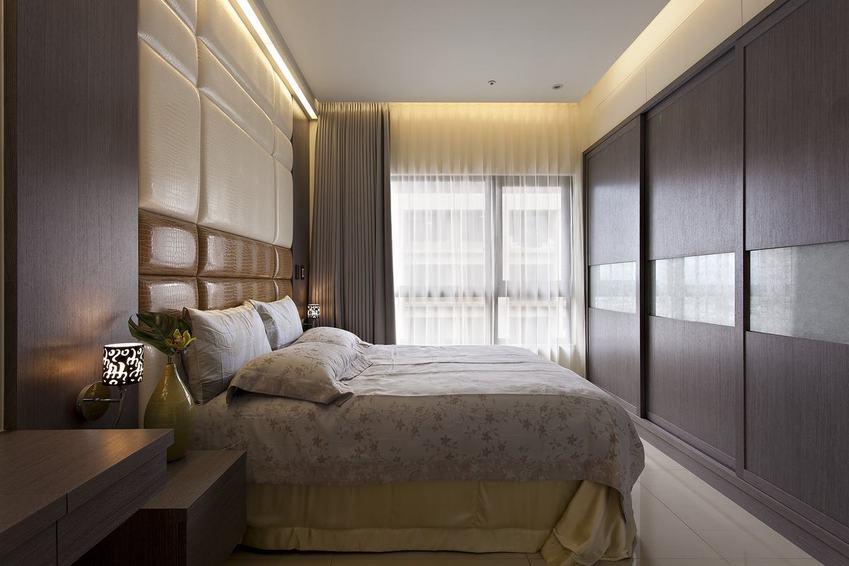 现代家装卧室衣柜效果图