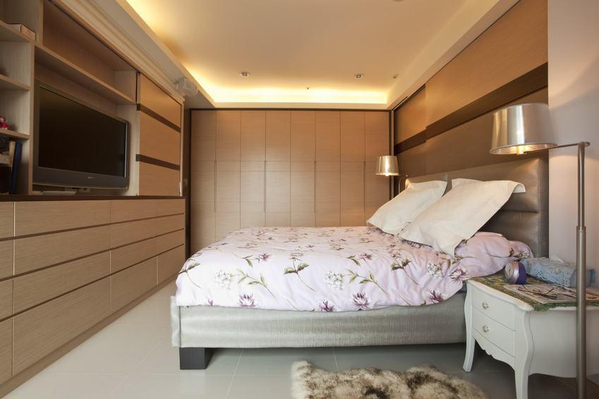 简约现代卧室电视柜设计