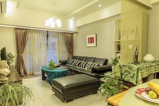 72平现代二居室内装潢欣赏