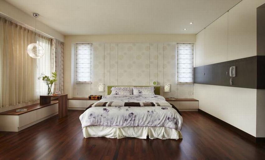 20平现代家装卧室案例图