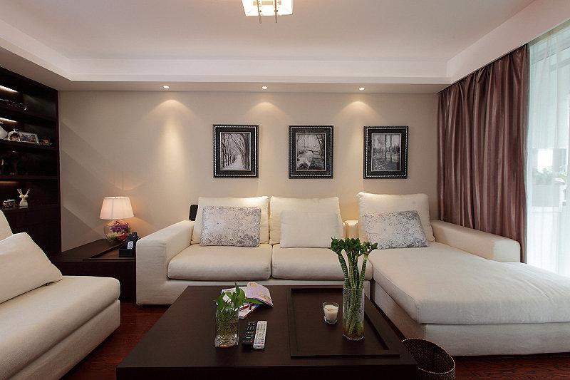 时尚现代客厅家居装饰图