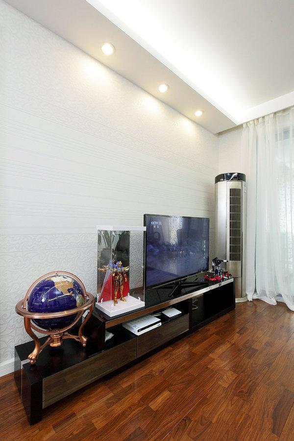 休闲现代风客厅电视柜效果图