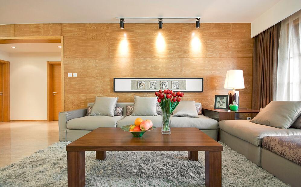 时尚宜家风客厅 沙发背景墙效果图