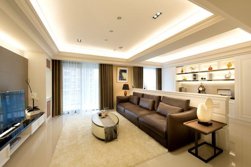 舒适简美式客厅装饰大全