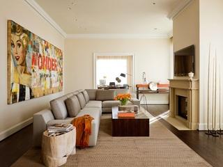 优雅裸色系北欧风情 三室美宅设计