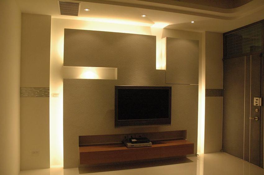简约设计一居室精装样板房