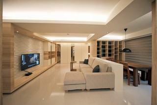 原木现代日式 三室暖居设计