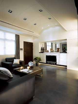 70平现代两室两厅室内装修图