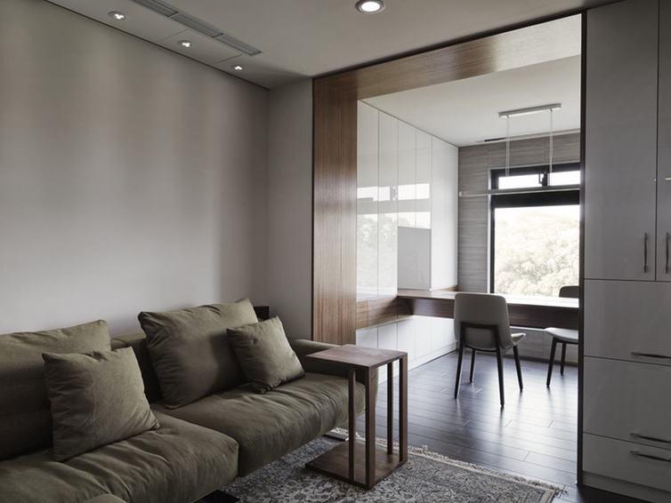 现代简美式 两室两厅设计