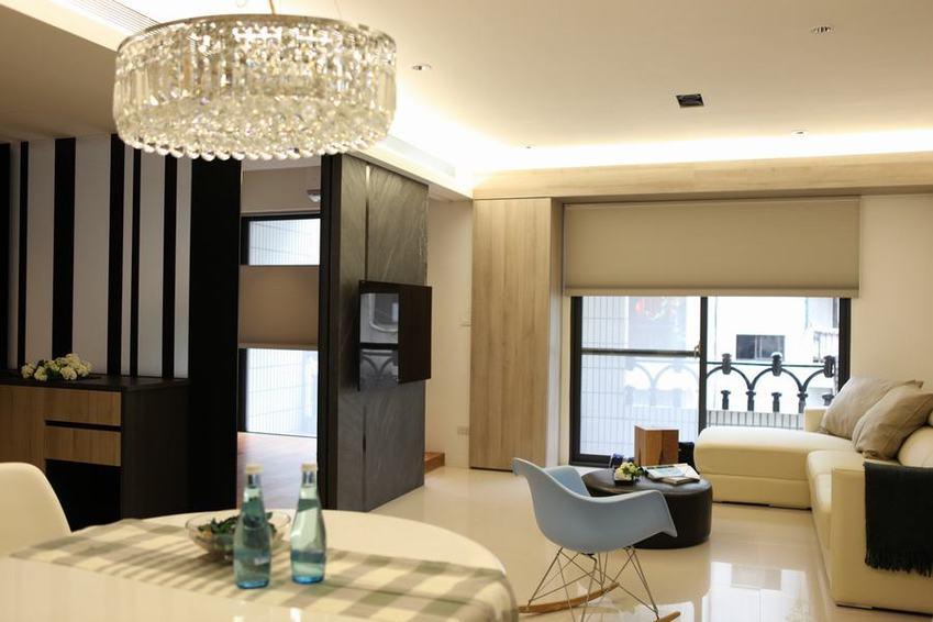 温馨极简宜家风公寓效果图