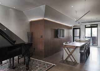 宜家自然风公寓室内装饰图