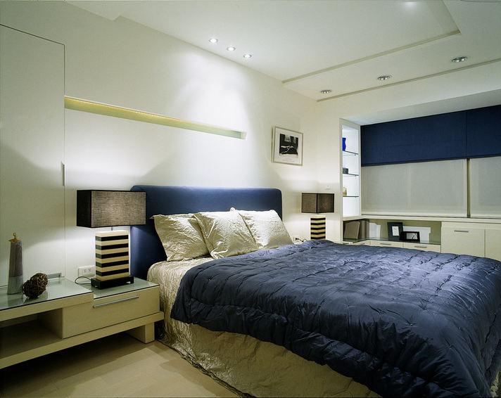 时尚简约装修卧室效果图