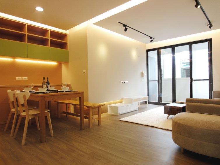 简洁日式风格三居室样板房
