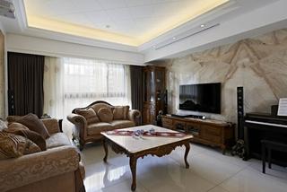 高端复古美欧混搭公寓效果图