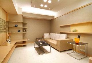 原木清新简约两室两厅装修样板房