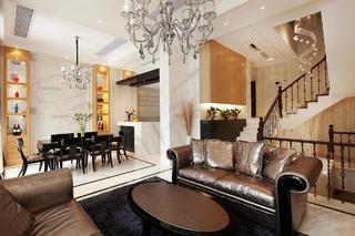 新古典风格装修别墅室内图