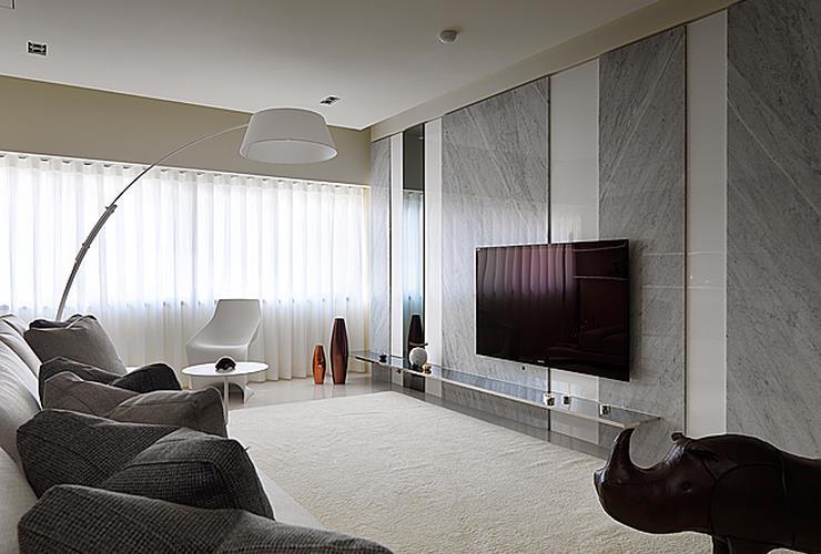 时尚精致宜家风格公寓效果图