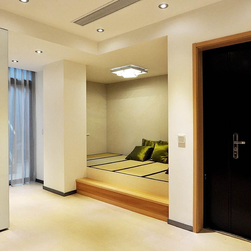 现代家装休闲榻榻米隔断设计