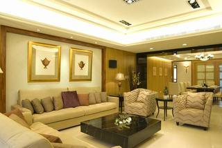 118平质感美式三居装潢设计图