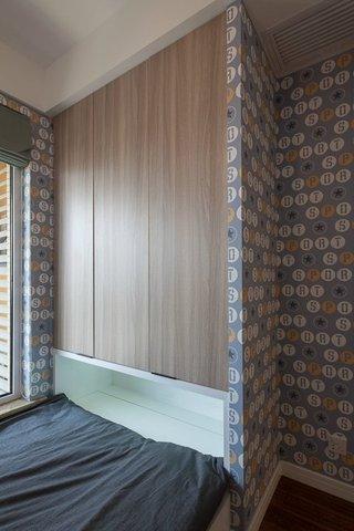 宜家现代风格家装墙纸装饰效果图