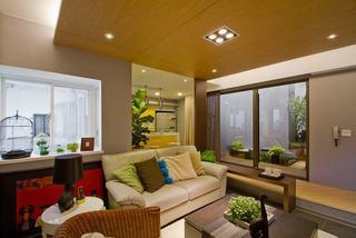 顶层小户型一居室简约设计装修案例图