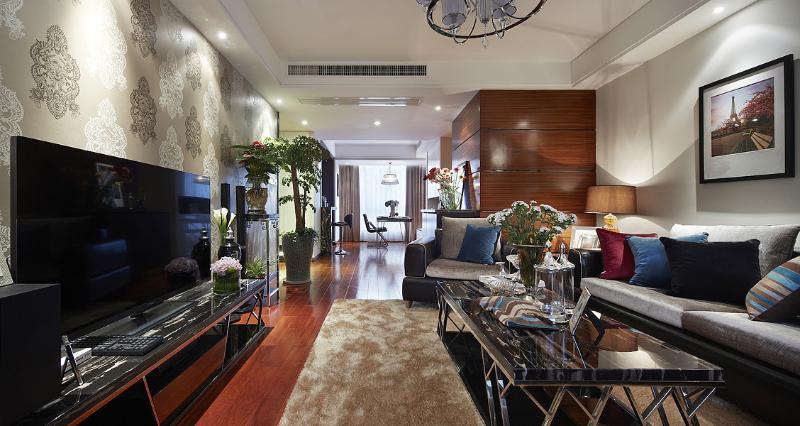时尚现代三居室内装修欣赏