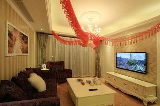 温馨简欧式客厅装饰大全