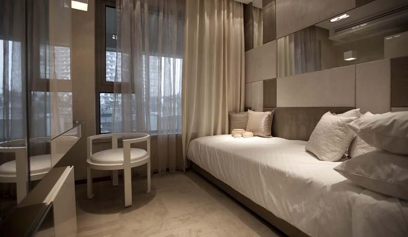 优雅简欧风 休闲区沙发床效果图