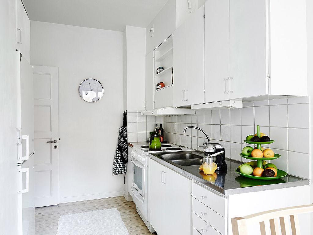 纯净北欧厨房装饰效果图