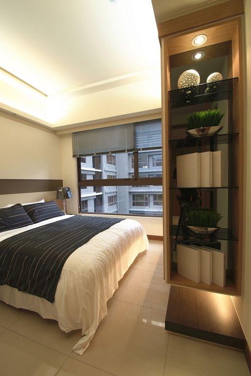 最新现代装修卧室壁龛设计
