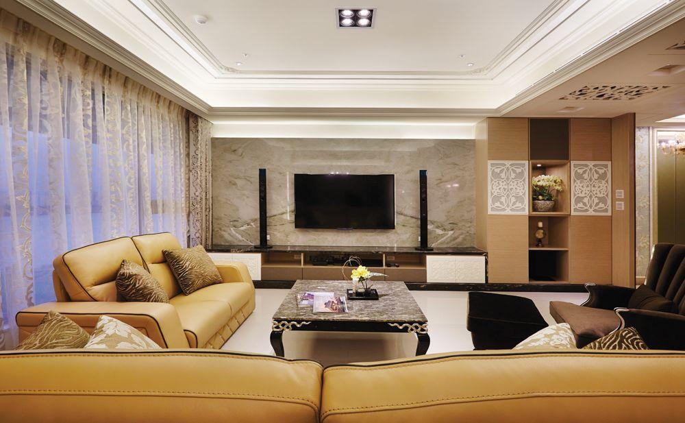 新古典主义风格四室两厅室内装修效果图