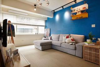 58平清新宜家风格公寓效果图