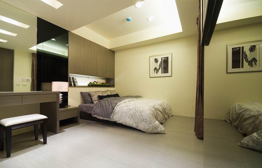 最新现代装修卧室吊顶设计