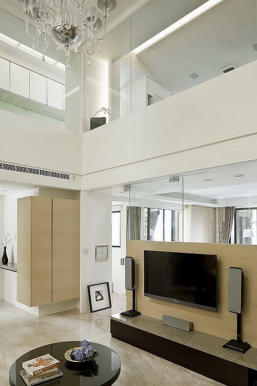 时尚现代简约风 电视背景墙效果图